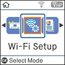 configurazione wi-fi